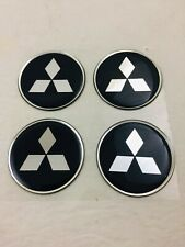 Wheel Center Emblem Set for Mitsubishi 49mm in diameter -NEW- #121