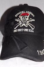 Special Forces One Shot One Kill Hat Adjustable