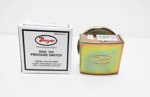 Dwyer 1823-80 1/8in Npt 10psi 480v-ac Pressure Switch