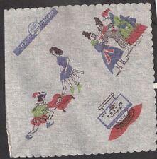 Judaica Vintage Hebrew Paper Napkin Cinderella