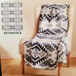 Pendleton Home Collection Reversible Jacquard Classic Throw Westward Journey NEW