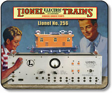 """Lione 256 Electric """"O"""" Locomotive with Test Track PreWar  Mouse Pad"""
