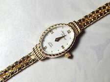 "NEW~LADIES MICHAEL ANTHONY 14K YELLOW GOLD BRACELET WATCH (7"") w MOP FACE (NOS)"