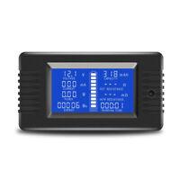 0-200 V 300A Voltmeter Amperemeter Digital Batterie Tester Eingebauter Shunt D2Q