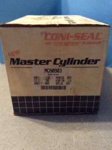 NEW CONI-SEAL Brake Master Cylinder CONI-SEAL MC80903