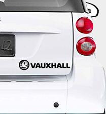 Vauxhall Car-Bumper-Window-Vinyl Sticker