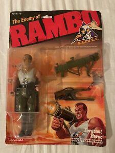 Coleco Rambo Savage Sergeant Havoc