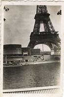 PHOTO ANCIENNE - VINTAGE SNAPSHOT-EXPOSITION UNIVERSELLE PARIS BELGE TOUR EIFFEL