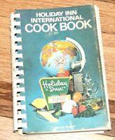 The Holiday Inn International Cook Book 1970 Vintage Motel Advertising