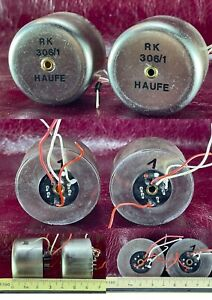 Pair HAUFE RK 306/1 tarsmfomers for AKG, Neumann, Vintage microphone