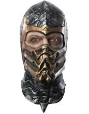 Overhead Latex Adult Scorpion Mortal Kombat Costume Accessory Mask