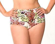 20 2X New Cacique Lane Bryant Leopard Print Full Coverage Swim Tankini Bottoms