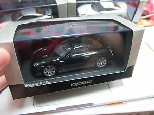 Kyosho - Scale 1/43 - NISSAN GT-R - 2008 R35 - Super Black - Mini Car - A6