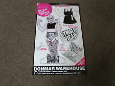 GYMSLIP Vicar Cut out and Enjoy DONMAR Warehouse Theatre Original Poster