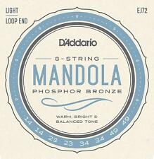 D'Addario EJ72 Mandola Strings Phosphor Bronze Wound Loop End 14-49 Light