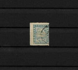 British Guiana Guayana Michelnummer 17 gestempelt Fregatte Sandbach 1860
