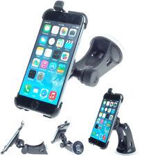 German made Apple iPhone car holder + windscreen suction dash car mount
