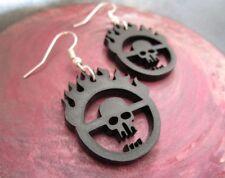 Mad Max Fury Road Immortan Joe Skull Gang Inspired Symbol Earrings War Boys