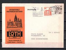 BRD, Drucksache MiNr. 995 + 1037 WSt Mainzer Johannis Nacht 1989