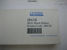 Original Citizen Ribbon Colour Ribbon IR-61 Black DP-600 XR10