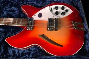 MINT Rickenbacker 360/12c63 Series Fire Glo Electric Guitar Original Case RARE!