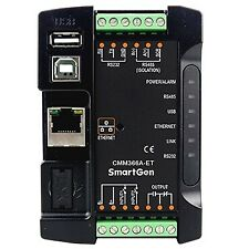 SmartGen CMM366A-ET Wired Ethernet connects cloud server