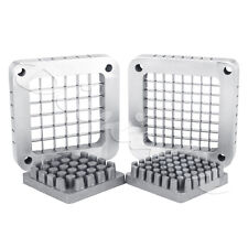 """Replacement 1/2"""" and 3/8"""" Blade Assembly & Push Block for French Fry Cutter"""