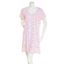 Carole Hochman S//S Nightshirt Women/'s 2X Pink Butterfly Soft Comfy Lightweight