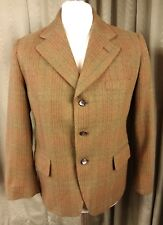 Vintage Tweed Jacket Styled By Design Circle For John Collier C38-40""