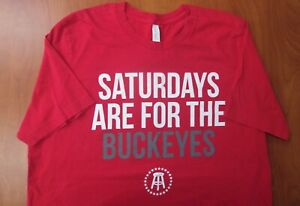 Barstool Sports Ohio State Saturdays Are For The Buckeyes Authentic T-Shirt XL