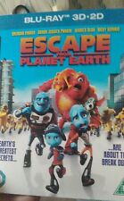 Escape From Planet Earth [Blu-ray] 3d +2d [2014] Kids New Sealed freepost