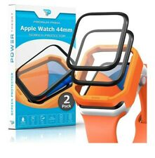 Power Theory Screen Protector for Apple Watch 44mm [2-Pk] with Easy Install Kit