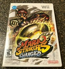 Mario Strikers Charged - Nintendo Wii - Clean & Tested Working - Free Ship