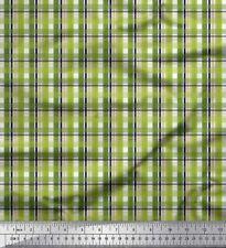 Soimoi Fabric Plaid Check Print Fabric by the Meter-CH-73B
