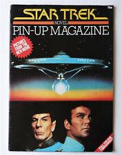 STAR TREK NOVEL: PIN-UP MAGAZINE.1979.FULL COLOUR, ORIGINAL.