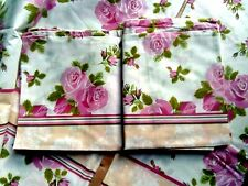 Lovely Double Duvet Cover/2 Pillowcases. New.Pink Roses