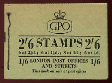 GB QE2 cucito LIBRETTO 2/6 SG F41 aprile 1956 BELLA registro completo