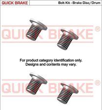 4 VIS DISQUE FREIN PEUGEOT 206 3/5 portes (2A/C) 2.0 S16 136 CH 06.1999-