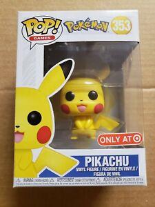 Funko pop pikachu pokemon target exclusive
