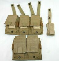 Specter Double  Triple Rifle Magazine Pouch MOLLE MADE IN USA Bonus Light case