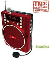 USB//FM//MIC FM Radio BS570 Bluetooth Wireless Rechargeable Portable PA Speaker