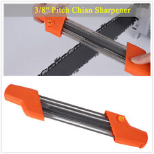"""3/8""""P Sharpening Tool 2 In 1 File Chainsaw Chain Sharpener 3/8"""" Pitch  Chainsaw"""
