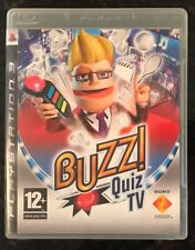 Buzz! Quiz TV. Sony PlayStation 3 - PS3. Blu-ray. PSNetwork. Game Only
