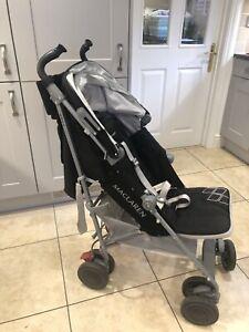 Maclaren Techno XT Single Seat Stroller - Black/silver