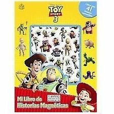 Toy Story 3 Mi Libro de Historias Magneticas by Valerie McLeod (2010, Hardcover)