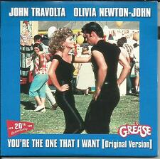 OLIVIA NEWTON JOHN & TRAVOLTA You're the & SUMMER NIGHTS REMIX CD single SEALED