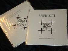 "PRURIENT Washed Against The Rocks 7"" EP nocturnal electronics vatican shadow NEW"