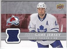 Darcy Tucker , 2008-09 , Upper Deck Game Jerseys , #GJDT