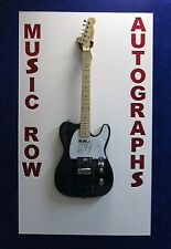 THE DOORS Signed Autograph x3 Electric Guitar John Densmore Krieger Manzarek JSA