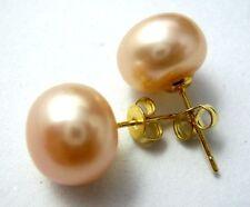 11-12mm the Pink Akoya Cultured Pearl Earring AAA